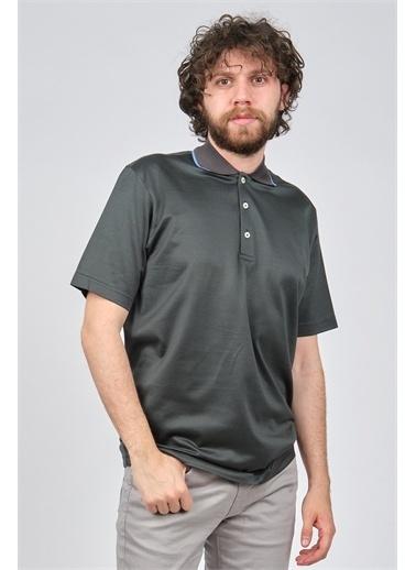 Arslanlı Arslanlı Erkek Polo Yaka T-Shirt  Yeşil